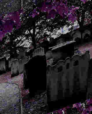 Haunted graveyard?